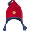 Finkid Pipo Bonnet Kids Red/Denim